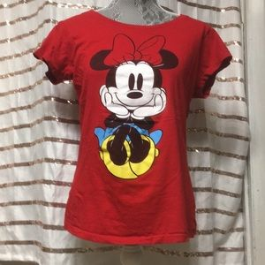 Disney Mini Mouse T-Shirt (Red)